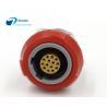 Buy cheap Medical Plastic Circular Connectors Socket Redel Compatible 1P 14 Pin 2 Keying from wholesalers