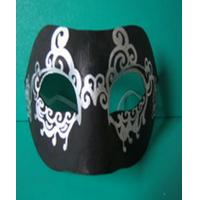 Environmently- friendly Hallowmas Mask Pulp Moulded Products Support DIY Painting Manufactures