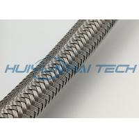 Metal Stainless Steel Braided Sleeving For EMI Protection And Wire Harness Manufactures