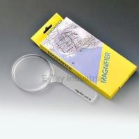 Handheld Magnifying Glass with 2 1/2-inch Lens Size and 4x Magnification Manufactures