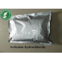 Local Anesthetic Powder Articaine Hydrochloride CAS 23964-57-0 Manufactures