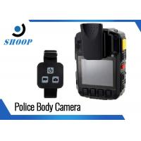 Military HD WIFI Body Camera 10 Hours Recording With Remoter 128GB Manufactures
