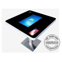 China 22 Inch Interactive Touch Screen Kiosk Coffee Touch Table Support Wireless Charging on sale