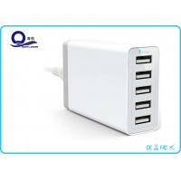 5 Ports USB Charging Station Desktop USB Hub with 40W 8A  for USB Smart Charger Manufactures
