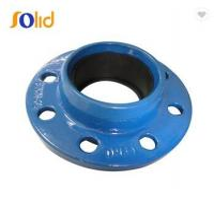 China ISO2531,EN545/598 FBE Epoxy Coating Ductile Iron Flange on sale