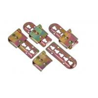 China Durable Iron Bed Hinges Brackets, Metal Brackets For Wood Bed Frame on sale
