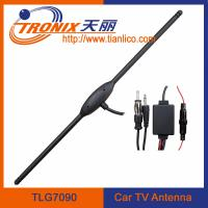 China car digital tv antenna/ am fm booster tv car antenna/ car antenna booster TLG7090 on sale