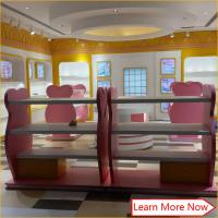 Costomized wooden no smellless painting nice colorful baby stores with lighting Manufactures