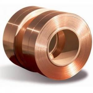 China Beryllium Copper Alloy Strip  C17200 C17000 GB UNS JIS 0.15-2mm Copper Foil Sheet Roll on sale