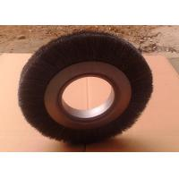 High Carbon Steel Wire Wheel Brush 250 OD X 99mm Inner Hole Fast Removing Rust Manufactures
