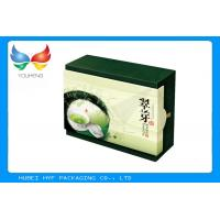 China Custom Printed Kraft Paper Boxes With Lids , Round Foil Stamping Crafts on sale