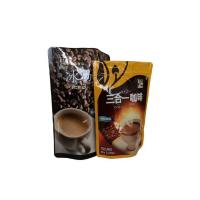 Resealable Doypack Coffee Valve Bags Stand Up Zipper Lock Bag 500G / 1KG Manufactures