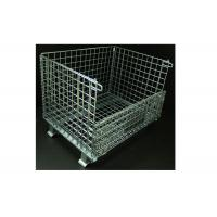 Customized Steel Wire Containers Corrosion Resistant Convenient To Transport Manufactures