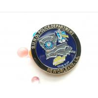 New York Police Challenge coin with customized police badges and patches Manufactures