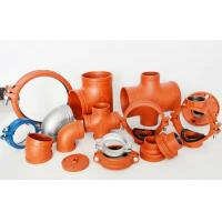 CCC FM UL High quality Ductile iron grooved fittings Manufactures