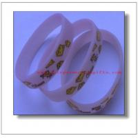 China Silicone Bangles on sale