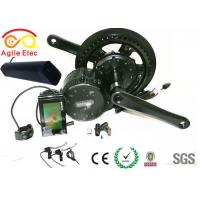 China Bafang Mid Crank Drive Electric Bicycle Motor Kit With Thunder Type Battery on sale