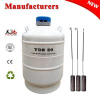 China TIANCHI Semen Tank 20L Liquid Nitrogen Biological Container Price on sale