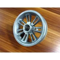 Pecision Aluminium Die Casting And CNC Machining Driving Wheel For Machinery Manufactures