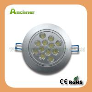 12W LED Puck Light; COB Down Light LED Manufactures