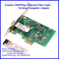 PCIe x1 Desktop PC Network Interface Cards, Single Port GbE (SFP) Network Adapter Manufactures