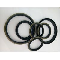 Silicone Material Iron Shell + Rubber  DKBI DLI Black And Yellow Rubber Dust Seals Manufactures