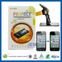 C&T 2014 NEW 0.2mm color tempered glass screen protector for iphone 5 Manufactures