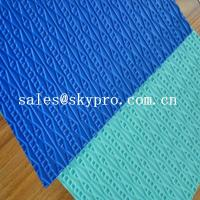 Colorful Shoe Sole Rubber Sheet / soft recycled sheet customized Size Manufactures