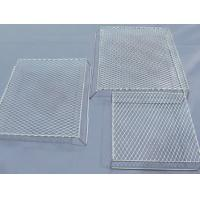 China Bbq Flattened Expanded Wire Mesh Grill Deep Processing 4.6mm Strand Width for sale