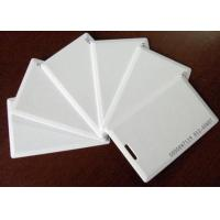 Thin white ID card, Thick white ID card, inductive ID card, identification card, blank ID card, access control card Manufactures