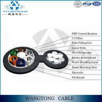 OEM F8 ftth 12core self supporting outdoor aerial fiber optic cable Manufactures