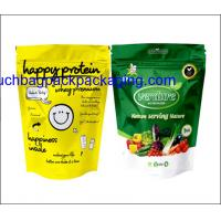 Color printing plastic food packaging bag, stand up pack pouch for food Manufactures
