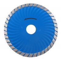 Wave Turbo Sintered Diamond Tip Saw Blade / Diamond Cutting Disc For Concrete Manufactures