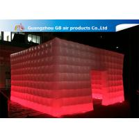 China 210T Polyester Fantastic House Inflatable Cube Tent Size 5*5m on sale