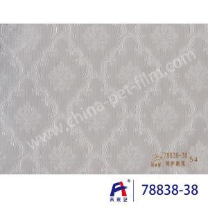 PVC  Coating  Film    PVC Decorative Film  Synchronized European flower78838-38 Manufactures