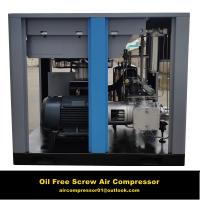 Water Lubrication Vertical Oil Free Air Compressor Screw Type Manufactures