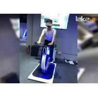 2 Seats Virtual Reality Bike Ride / Indoor Cycling SimulatorWith 9D VR Glasses