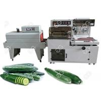China Industrial Food Packing Machine L Bar Cucumber Shrink Wrap Machine With Photoelectric Detection on sale
