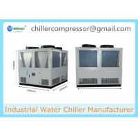 180kw 50 tons 50TR Air Cooled Water Chiller with Screw Compressor Manufactures