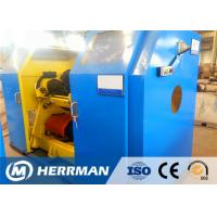 China Copper / Aluminum Wire Rewinding Machine , Cable Winding Equipment With Taping on sale