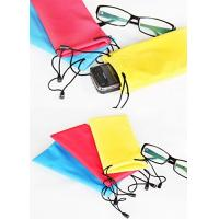 600D Nylon Microfiber Sunglass Pouch , Children's Soft Case For Glasses Manufactures