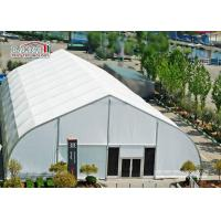 40 x 90 M With Fire Retardant White PVC Fabric TFS Tents For Events Heat Resistant Manufactures