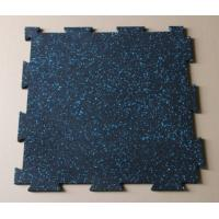 China Interlocking rubber tiles/gym rubber mats on sale