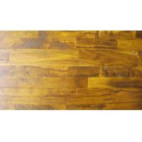China Acacia Solid 3-strips, hand-scraped,distressed,UV lacquer on sale