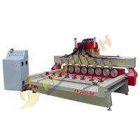 Cylinder engraving machine 4 axis cnc router with multihead and rotary axis Manufactures