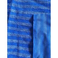 160cm Width Warp Knitting Blue Eight Grid Microfiber Cleaning Cloth SGS Manufactures