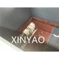 Claw Knife Plastic Shredder Machine for Crushing Solid Plastic ISO9001:2008 / CE Manufactures