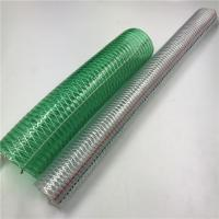 China High quality PVC High Strength Polyester Reinforced Gas Pipe pvc fiber reinforced gas hose pipe on sale