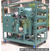 Vacuum Insulation Oil Recycling Plant Transformer Oil Purification Machine With Degassing / Dehydration Manufactures