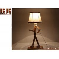 High Quality Modern Decorate Wood table lamp Carving 3D Led Night Light Manufactures